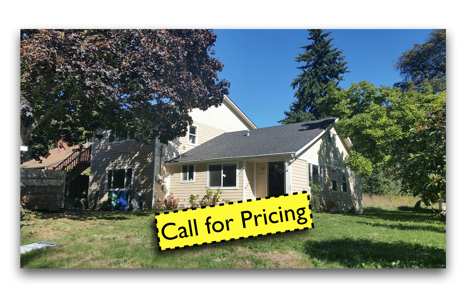 Olympic Hills call for pricing